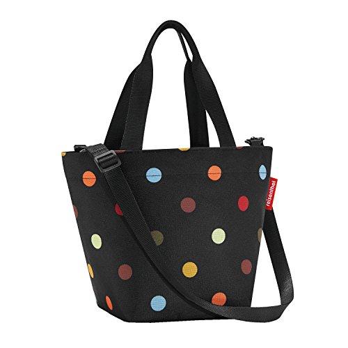reisenthel shopper XS dots 4 Liter Schultertasche Umhängetasche Tagestasche (Shopper Kleiner)