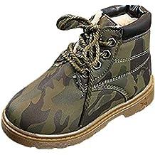 BBestseller Zapatos Botines para niños más algodón Bota de Nieve Caliente  Casual Antideslizante Camuflaje Sport Botas dad18345ede99