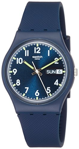 Swatch Sir Blue Armbanduhr GN718