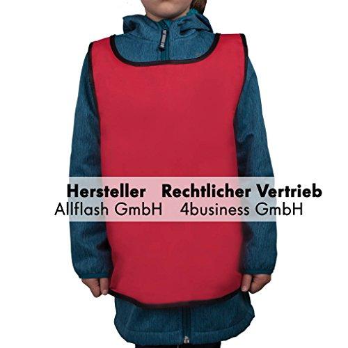 Preisvergleich Produktbild Sportüberwurf rot Größe small für Kinder