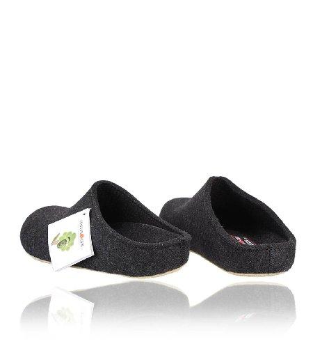 HaflingerGrizzly Michl - Ciabatte non imbottite Unisex – Adulto grigio - Grigio