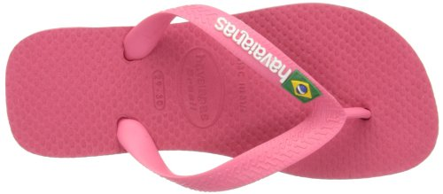 Havaianas Brasil Logo 4110850, Infradito Unisex – Adulto Neon Pink