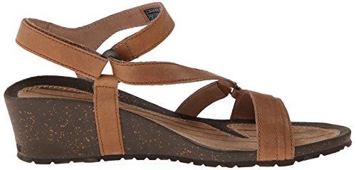 Teva Woman Sandals Cabrillo Crossover Wedge Tan *