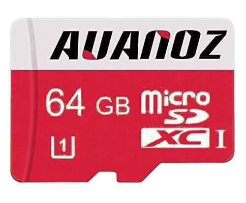 Tarjeta Micro SD 64 GB Auanoz Micro SDXC Clase 10