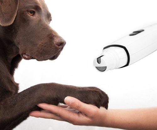 Krallenschleifer Krallenschleifmaschine Nageltrimmer für Hundepfoten ohne Kabel Nagelmaschine Nagelpflege Nagelfeile Nagel Maschine Kabellos für Hunde Haustiere Katzen von der Marke PRECORN