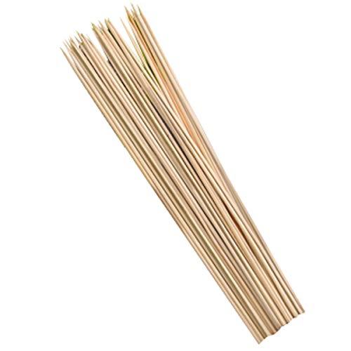 WSSZZ319 Bastón para Barbacoa, Varilla De Bambú, Varilla De Barbacoa, Oden, Varilla De Bambú, Varilla De Cuerdas, Algodón, Paleta De Bambú,2Pc,35cm