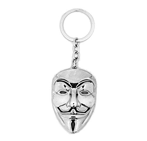 �nzend Tür Schlüssel Maske Guy Fawkes V for Vendetta C1C ()