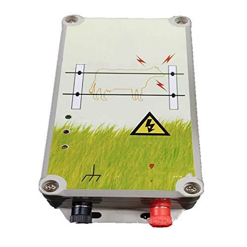 Die Isolierung Booster (wansosuper Elektrozaun 220V,Energie Sparen Elektrozaun Zaun Schafe,Elektrozaun Elektrozaun Netz, Schafzaun,Booster FüR Sicherheits-Elektrozaun,Green)