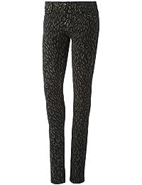 Adidas Originals femme super Skinny Basse jegging Imprimé Noir de £70