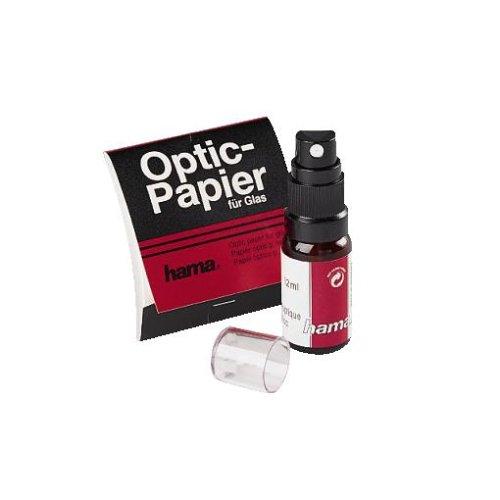 Hama 2er Foto-Reinigungsset, Spezialreiniger, Optik-Papier, Optik HTMC