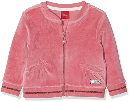 s.Oliver Baby - Mädchen Sweatjacke 65.809.43.3419 (Pink 4365), 86