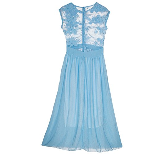 Chouette Robe De Cérémonie Soirée Mariage Bal Cocktail Mariage Robe Demoiselle D'honneur Longueur Maxi Bleu