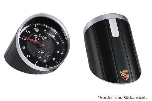 Preisvergleich Produktbild Porsche Tischuhr, schwarz