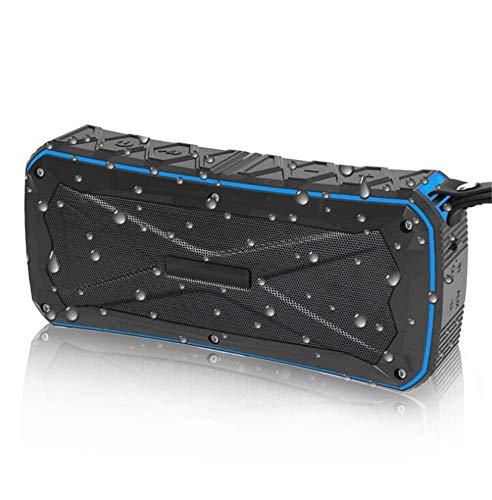 Altavoz Bluetooth portátil portátil Impermeable Personalidad Deportiva al Aire Libre, Azul