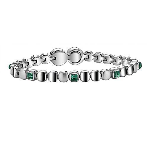 Breil per bracciale da donna, con simbolo rolling diamonts tj1457 offerta cod. tj1457 tendenza