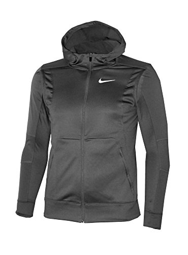 Nike Therma Sphere Kobe Hyper Elite Men's Full-Zip Basketball Hoodie,Charcoal (Medium)