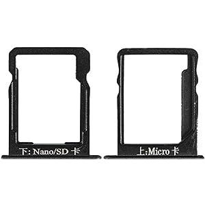 Original Huawei SIM und SD Halter black / schwarz für Huawei Ascend Mate 7 (Sim SD Holder, Tray)