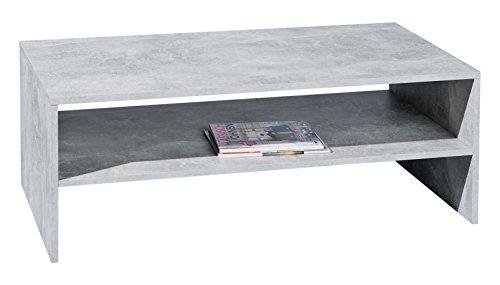 Links Cemen A7 - Tavolino. Dim: 115x60x41,6 h cm. Col: Grigio. Mat: Nobilitato.