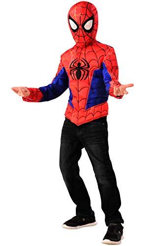 Rubie's Offizielles Disney Spider-Man Spider-Verse Filmkostüm, Deluxe-Kostüm für Alter 4–6 Jahre