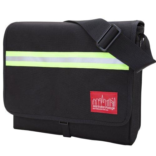 Manhattan Portage Unisex Erwachsene Reflective DJ Bag MD Tasche, schwarz One Size - Manhattan Portage Tasche
