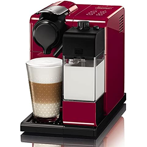 Nespresso Lattissima Touch EN550.R Macchina per Caffè Espresso, Colore Rosso