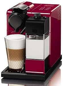 Nespresso Delonghi Lattissma Touch Automatic Coffee Machine, Glam Red