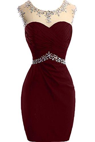 Missdressy - Robe - Femme rouge bordeaux