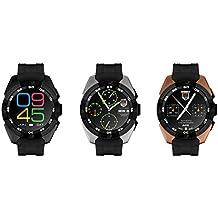 Smartwatch teléfono Mate, Smart Watch para niños, Smart Watch niños gps tracker / cámara remota / monitor de ritmo cardíaco (plata)