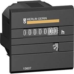 Schneider Elec PBT–PM14304–Compteur horaire 230VCA/50Hz