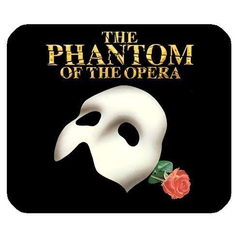 Die Phantom der Oper Maske Broadway Musical Rechteck Mauspad Mousepad 25x - Phantom Der Oper-zubehör