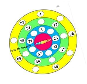 Party Stuff Pingu Theme Tambola Housie Tickets - Pingu Classic kukuba 2 - Pingu (12 Cards) | Kitty Games