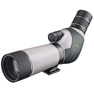 Landove 20-60x 62mm Longue-vue zoom à double focalisation - Télescope à oculaire à angle BAK4 - Scope étanche pour l'observation des oiseaux