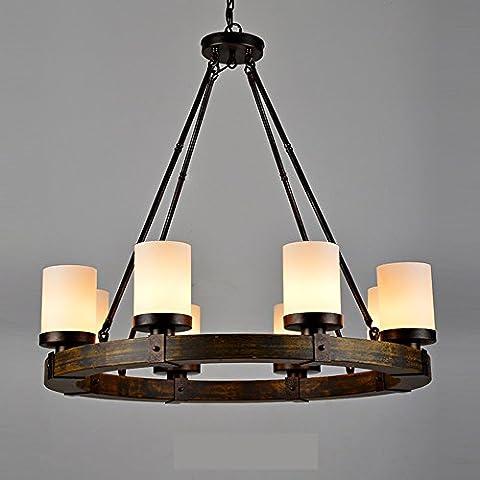 Genérico TJDlight Simple Candelabros de velas de lujo 8 y vidrio esmerilado