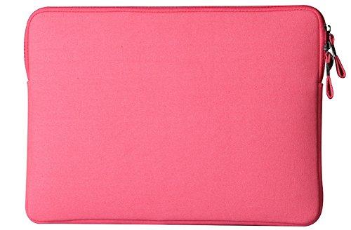 YiJee Wasserdicht Sleeve Laptoptasche Notebookhülle Zubehörtasche für MacBooks 11.6 Zoll Rose 1