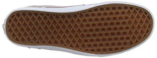Vans Chapman Stripe, Baskets Basses Homme Gris (Varsity/Gray/Red)