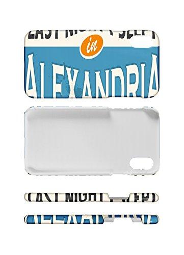 LEotiE SINCE 2004 Handy Schale passend für iPhone 8 Fernweh Stadt Alexandria Ã?gypten