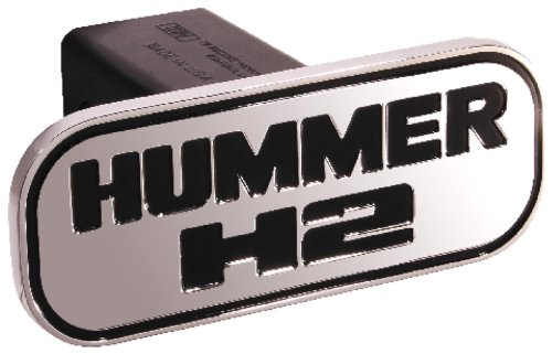 defenderworx-59103-hummer-hummer-h2-black-rectangle-2-in-billet-hitch-cover