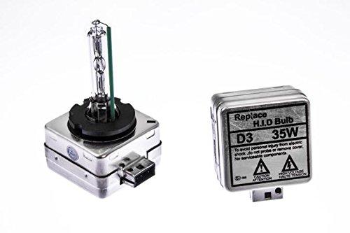 Preisvergleich Produktbild Seitronic® Set D3S Xenon Brenner mit E-Prüfzeichen in der Lichtstärke von 6000K