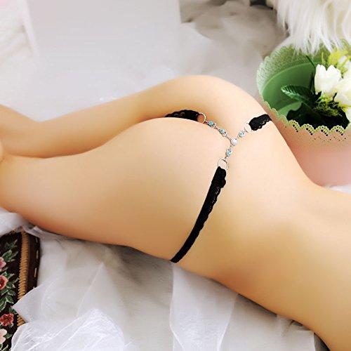 RRRRZ*Frau schnur schnur von Diamant Schmuck hip lace T-Hose und sexy String unterwäsche Transparente Versuchung , low-rise-sind-Code , (Mann Uk Alter Kostüm)