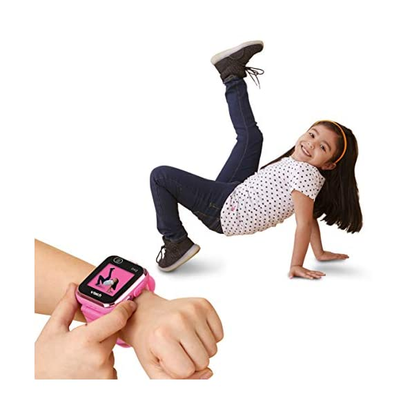 VTech Kidizoom Smart Watch DX2 - Reloj inteligente para niños, color rosa, versión Alemana (80-193854) 7