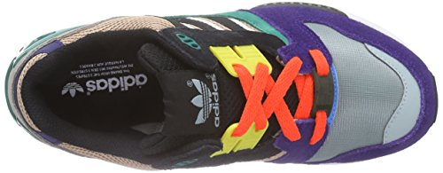 adidas Zx 8000, Baskets Basses mixte adulte Multicolore - Mehrfarbig (Dust Pearl S15-St/Core Black/Sub Green S13)