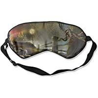 Eye Mask Eyeshade Spider Web Night Sleep Mask Blindfold Eyepatch Adjustable Head Strap preisvergleich bei billige-tabletten.eu