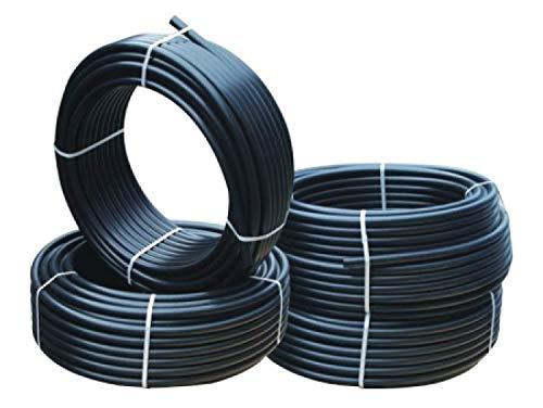 rg-vertrieb Verlegerohr Versorgungsleitung Wasserleitung Druckrohr für Bewässerung Sprinklersystem PE-Rohr 16mm 20mm 25mm 32mm wählbar (20 mm x 10 m)