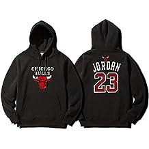 YOHH Chicago Bulls Uomo Felpe Da Basket 5b23050f5a93