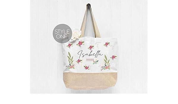 Personalised Name Large Tote Bag, Large Shopper Bag, Uni Bag