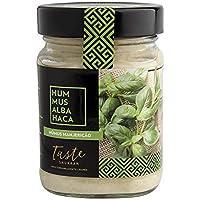 Taste Shukran, Hummus para untar y dipear (Albahaca) - 6 de 225 gr. (Total 1350 gr.)