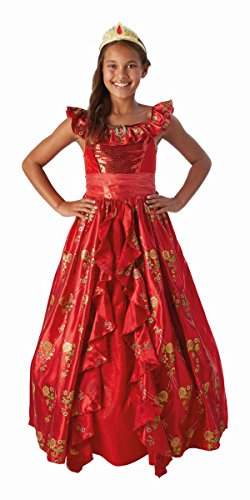 Rubie's Disney Kinder Kostüm Elena von Avalor Ballkleid 9 bis 10 Jahre (Elena Von Avalor Kostüm)