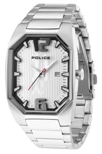 Police Herren-Armbanduhr OCTANE Analog Edelstahl P12895JS-04M
