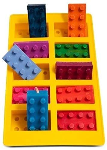 GKA Silikon Backform Eiswürfelbereiter Pralinenform Eiswürfelform Bausteine Baustein Backen Kuchen Plätzchen Kindergeburtstag Form