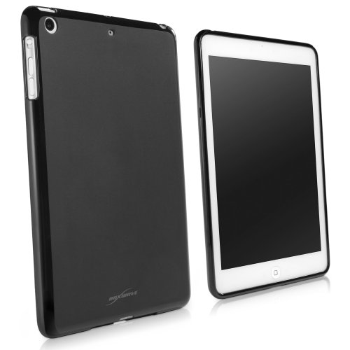 BoxWave Blackout Schutzhülle für iPad Mini mit Retina Display-langlebig, schmalem schwarz TPU Schutzhülle mit stylischen Dual Glänzend und Matt Finish-iPad Mini mit Retina Display Fällen und Abdeckungen (Ifrogz Mini Ipad Case)